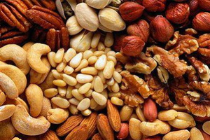 продукты  способствующие похудению. Орехи