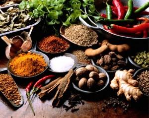 Продукты способствующие похудению. Пряности и специи