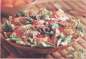 Салат витаминный с макрурусом