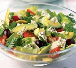Новогодний салат для худеющих